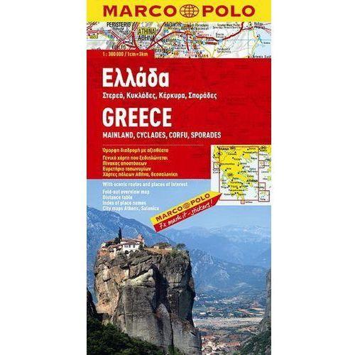 Grecja 1:300 000 - mapa Marco Polo (9783829737500)