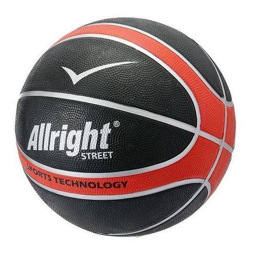Piłka do koszykówki street red 7 marki Allright