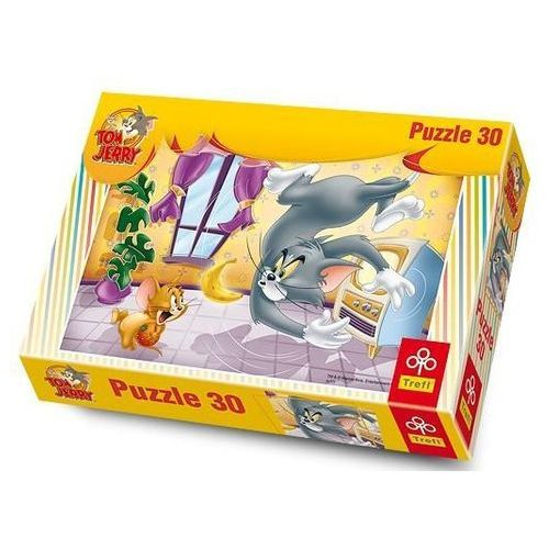 Trefl Puzzle  owocowa bitwa toma i jerrego
