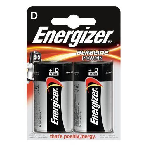 2 x bateria alkaliczna power seal lr20/d (blister) marki Energizer
