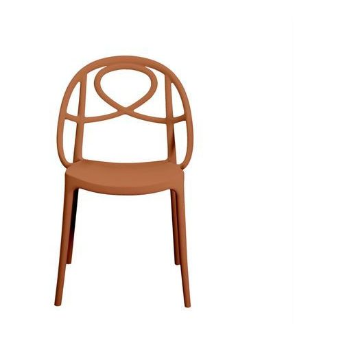 Krzesło ogrodowe etoile pomarańczowe marki Green