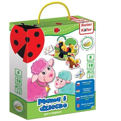 Gra edukacyjna z rzepami Mama i dziecko, RK5101-02