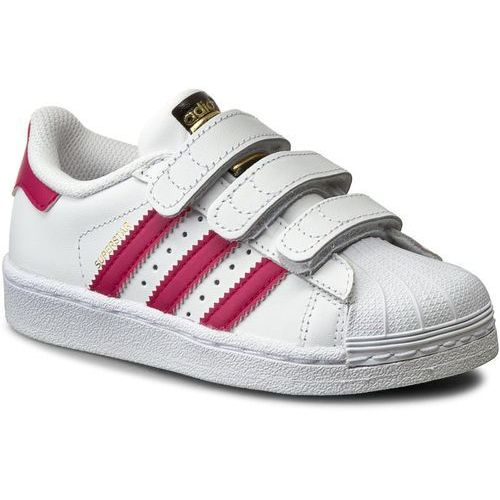 Buty adidas - Superstar Foundation Cf C B23665 Ftwwht/Bopink/Ftwwht