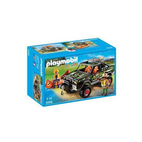 Playmobil WILD LIFE Przygoda z samochodem terenowym 5558