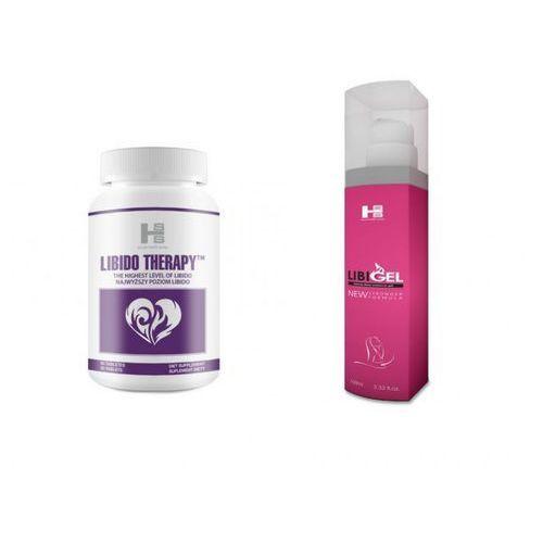 Sexual health series (gb) Mega zestaw libido therapy 30 tab. + libigel 100ml   100% dyskrecji   bezpieczne zakupy