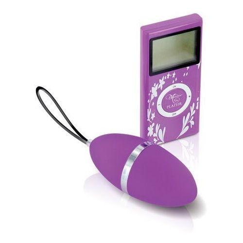 Jajeczko wibrujące Plaisirs Secrets - Vibrating Egg Purple