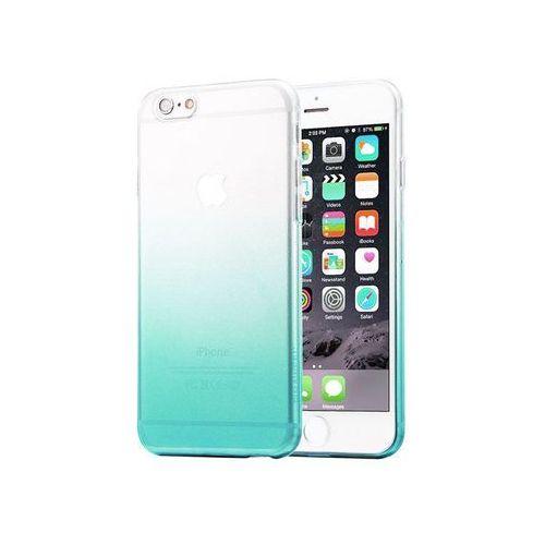 Etui Alogy ombre case Apple iPhone 6 / 6s Zielone + Szkło - Zielony