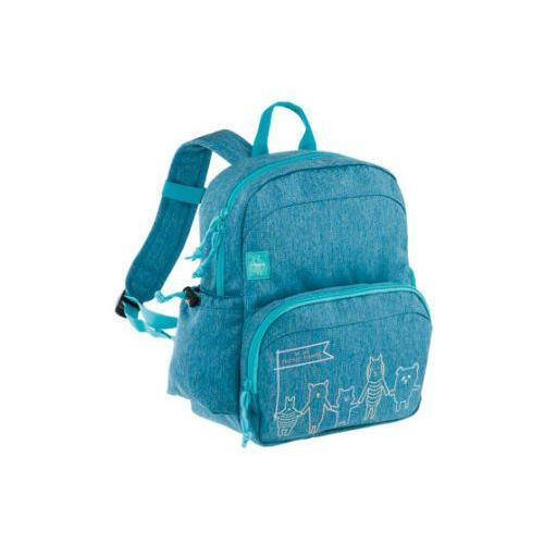 Lässig 4kids medium backpack about friends plecak melange blue (4042183366807)