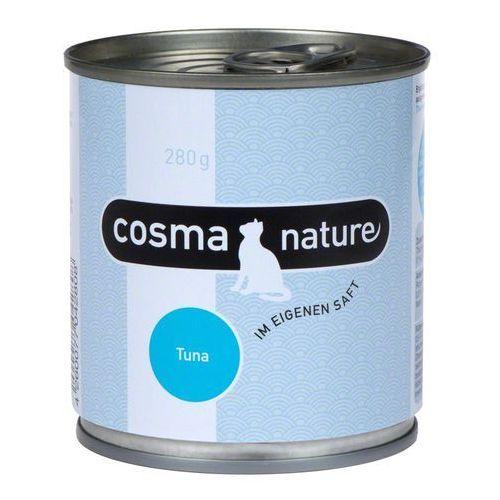 Cosma Nature, 6 x 280 g - Pierś z kurczaka i tuńczyk, kup u jednego z partnerów