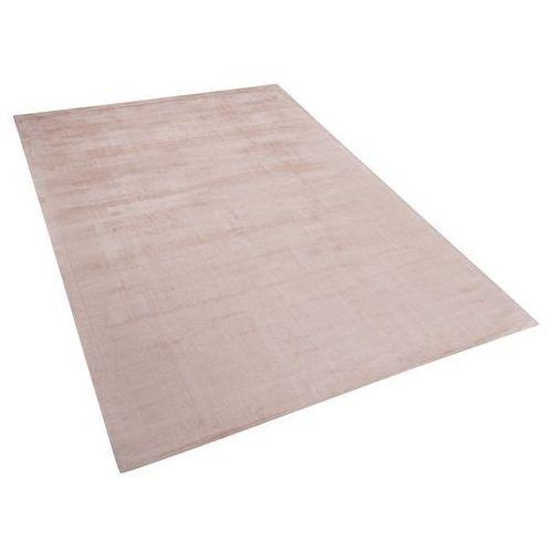 Dywan beżowy 160x230 cm krótkowłosy - chodnik - wiskoza - gesi marki Beliani