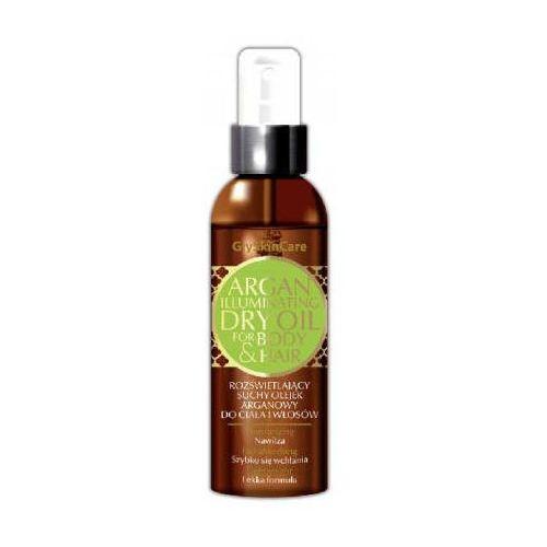 rozświetlający suchy olejek arganowy do włosów i ciała 125ml marki Glyskincare