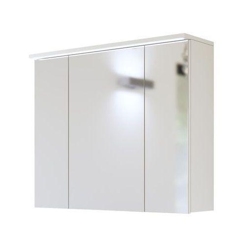Szafka łazienkowa z lustrem led 80 cm galaxy white marki Comad