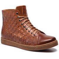 Sneakersy QUAZI - QZ-03-02-000118 105, kolor brązowy