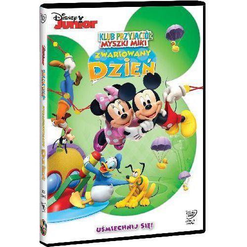 Klub Przyjaciól Myszki Miki: Zwariowany dzień. DVD z kategorii Seriale, telenowele, programy TV