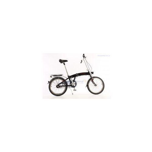 Aluminiowy rower składany SKŁADAK MIFA 3-BIEGI SHIMANO NEXUS czarny ()