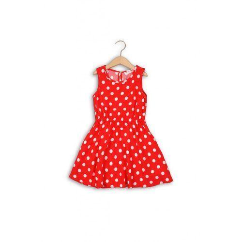 Sukienka dziewczęca w groszki 4K34A1 (5033819785306)