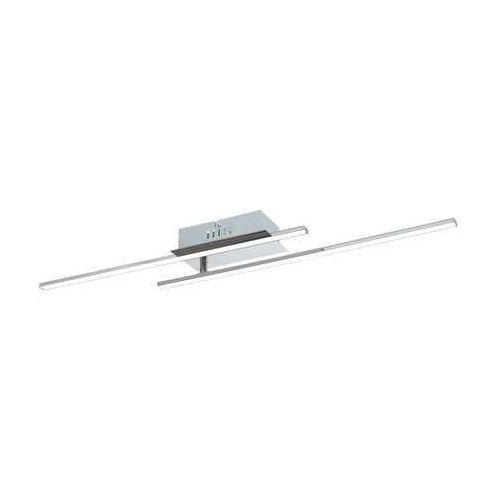 Eglo Plafon lampa oprawa sufitowa parri 2x6w led chrom/biały 96315 (9002759963156)