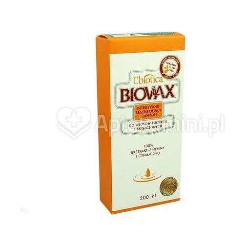 L'biotica Biovax szampon int.reg d/wł.such,zniszcz szamp. - 200 ml