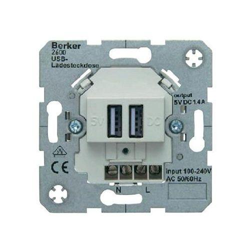 Berker B.3 / B.7 GNIAZDO USB ŁADOWANIA