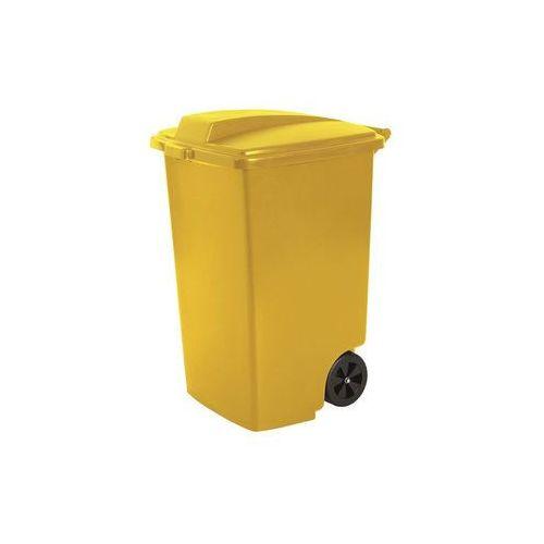 Curver Kosz zewnętrzny na śmieci 100l żółty