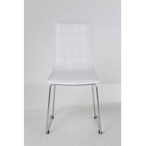 Kare design :: krzesło high fidelity white - kare design:: krzesło high fidelity white ||biały ||srebrny