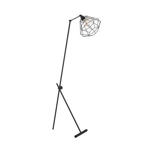Lampa podłogowa KENZO czarna E27 ALFA