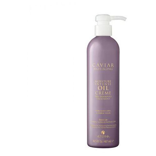 Alterna caviar moisture intense oil creme pre-shampoo treatment | głęboko nawilżająca kuracja do włosów suchych i przesuszonych - 487ml