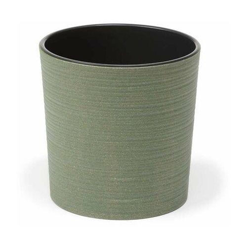Doniczka plastikowa 19 cm zielona MALWA (5900119428427)
