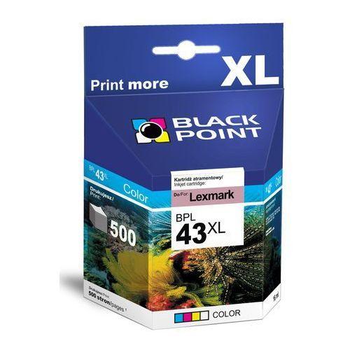 Black Point tusz BPL43XL (18YX143E) Color Darmowy odbiór w 19 miastach!, BPL43XL