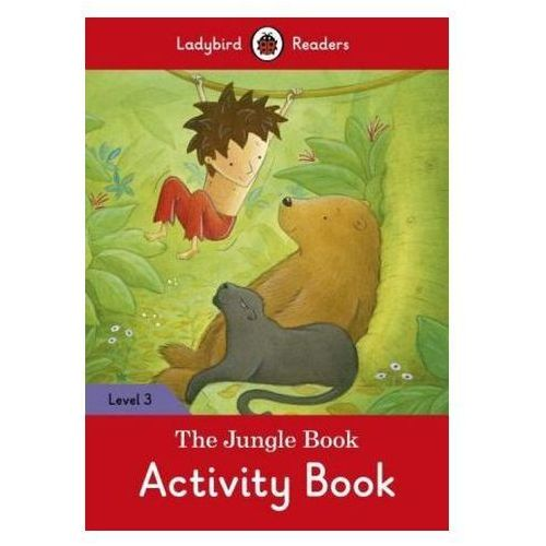 The Jungle Book Activity Book - Ladybird Readers Level 3, Penguin