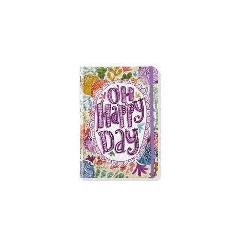 Notatnik Mini Oh Radosny Dzień - Peter Pauper Press DARMOWA DOSTAWA KIOSK RUCHU (9781441323774)