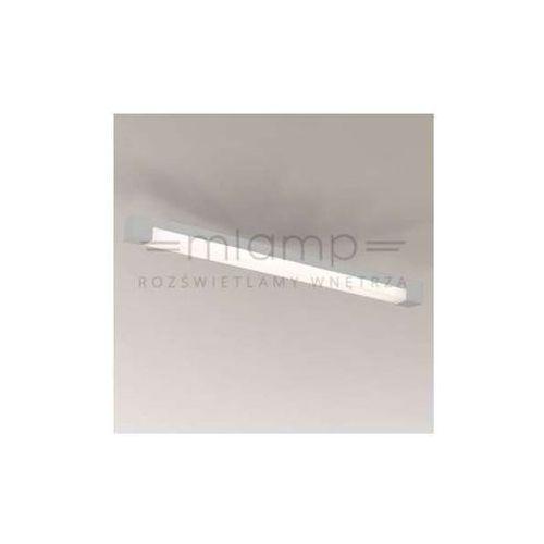 Natynkowa LAMPA sufitowa SUMOTO 8032/G5/SZ Shilo minimalistyczna OPRAWA prostokątna listwa IP44 szara, kolor Szary