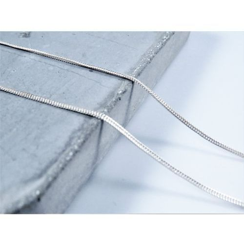Srebrny (925) łańcuszek LISI OGON 50 cm + PREZENT