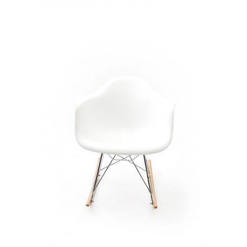 Signu Design Krzesło PATIN białe, kolor biały