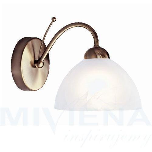Searchlight Milanese kinkiet 1 patyna szklo