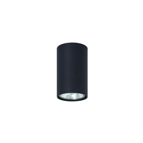 Lampa sufitowa Simba czarny Lampex 483/G