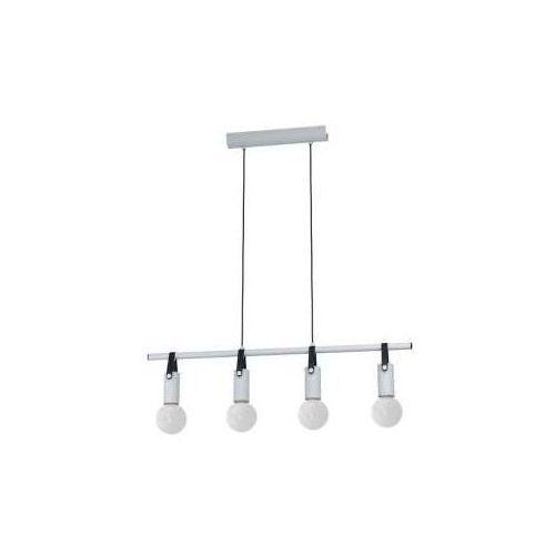Eglo Apricale 98282 lampa wisząca zwis oprawa 4x60W E27 szara/czarna (9002759982829)