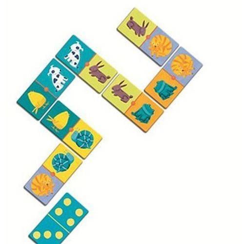Gra domino - Kolory - produkt z kategorii- Gry dla dzieci