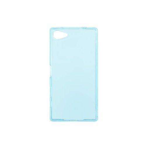 Sony Xperia Z5 Compact - etui na telefon Ultra Slim - niebieski, ETSN233ULSLBLU000