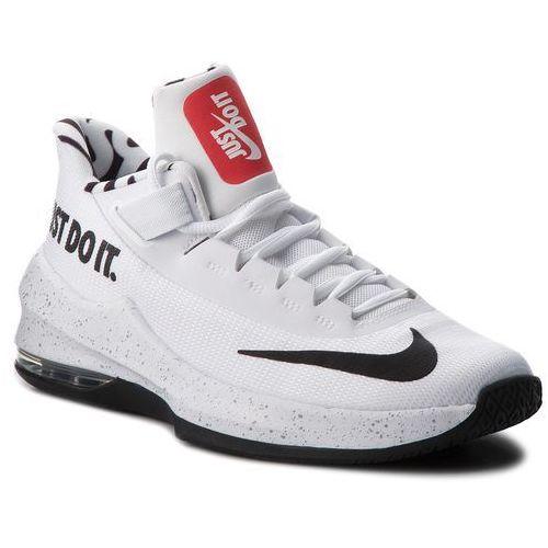 Nike Buty - air max infuriate ii jdi gs aq9975 100 white/black/lt crimson