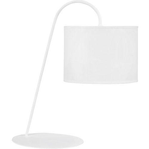 Lampa stojąca stołowa/ biurkowa ALICE White - Biały (5903139538190)