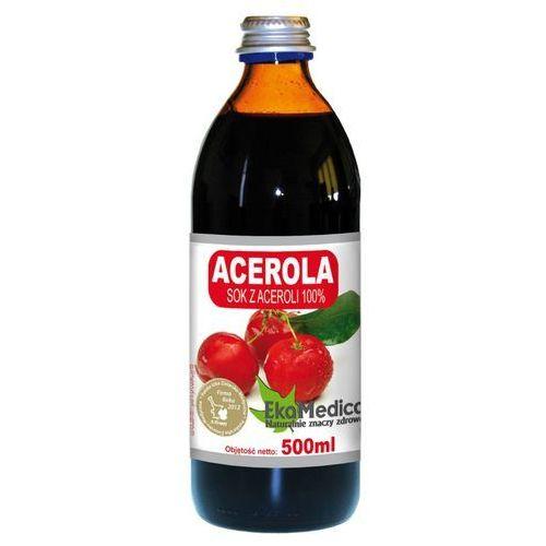 Acerola sok 100% (500 ml) EkaMedica (5902596671785)