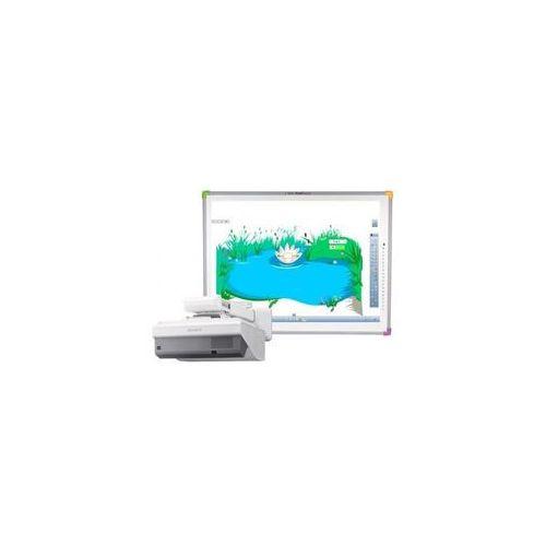 Tablica TouchBoard Plus 1078 + projektor SONY VPL-SX631 + uchwyt ścienny SONY