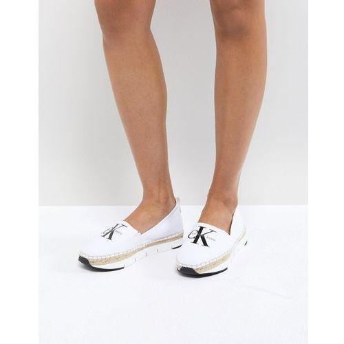 genna canvas espadrille shoes - beige marki Calvin klein