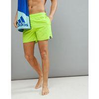 adidas Swim Shorts In Yellow CV5131 - Yellow, szorty