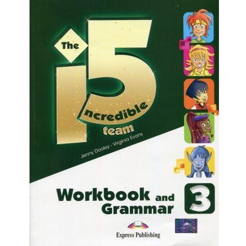 Incredible 5 Team 3 WB-Grammar EXPRESS PUBLISHING - Virginia Evans, Jenny Dooley (112 str.)