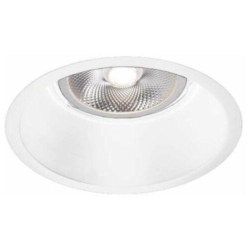 Shilo Oczko lampa sufitowa kami 7381 podtynkowa oprawa metalowa wpust okrągły biały