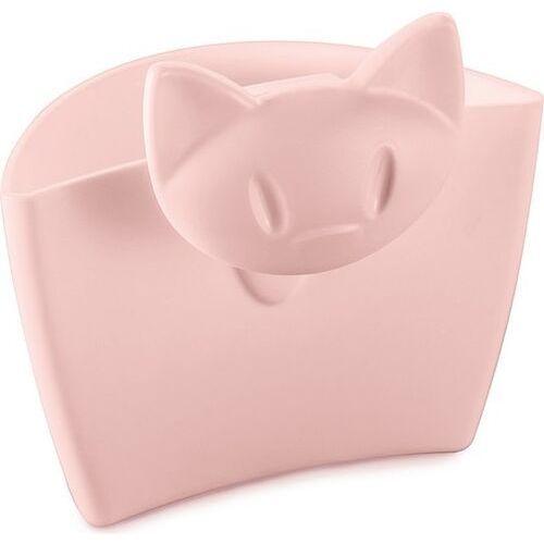 Pojemnik wielofunkcyjny na kubek mimmi pastelowy róż, 3498638