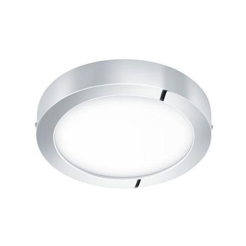 Plafon fueva 96246 lampa oprawa sufitowa 1x22w led biały/chrom ip44 marki Eglo