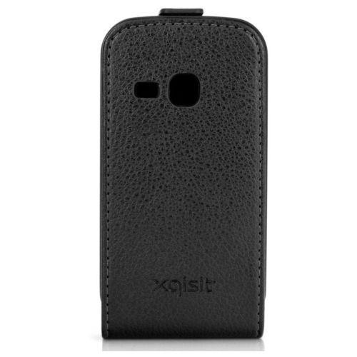 Pokrowiec XQISIT Flipcover (Samsung Galaxy Mini 2) Czarny (4029948100784)